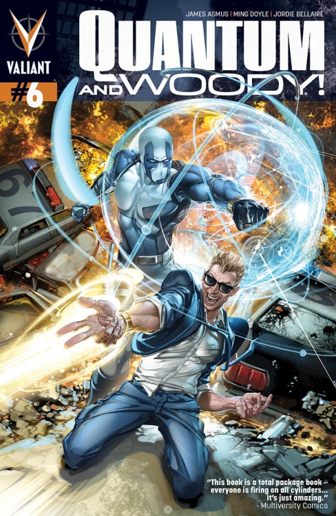 Valiant (Re)visions: Quantum & Woody #6 and Shadowman #13