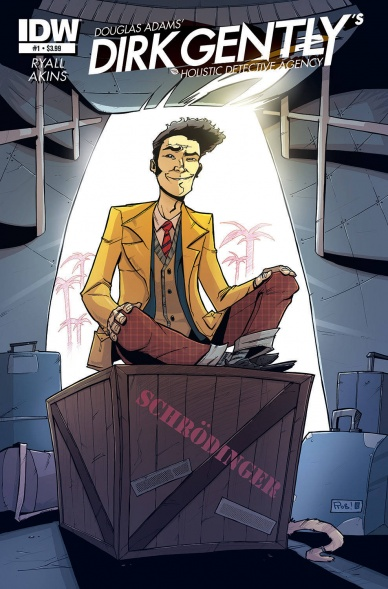 Idw To Publish Dirk Gently Comics Based On The Douglas Adams