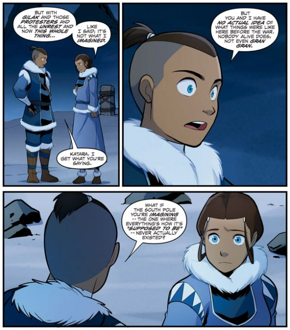 """""""Avatar: The Last Airbender—North And South"""" Part 3"""