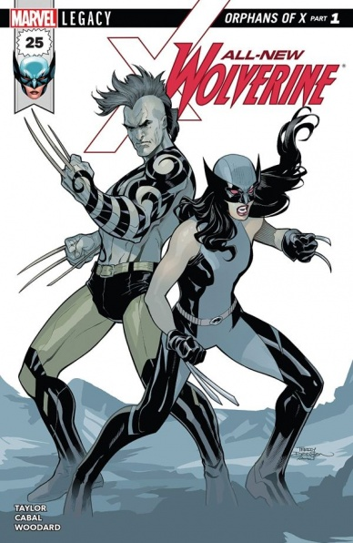 All New Wolverine 25 Written By Tom Taylor Illustrated Juann Cabal Colored