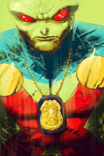 "Steve Orlando and Riley Rossmo Launch 12-Issue ""Martian Manhunter"" Series in December"