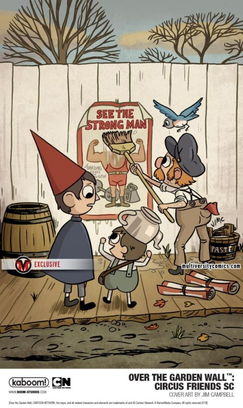 Exclusive New Over The Garden Wall Ogn Circus Friends From