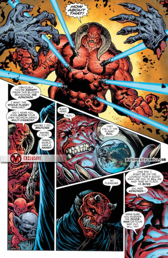 Interview and Exclusive Preview: Grant Morrison and Liam Sharp