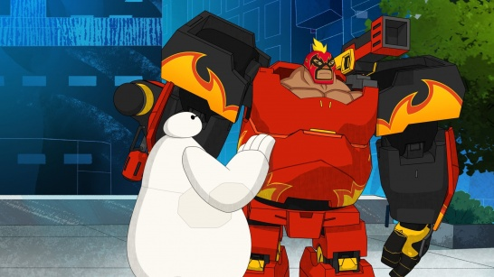 Five Thoughts On Big Hero 6 The Series Mini Maximum Trouble And El Fuego Multiversity Comics